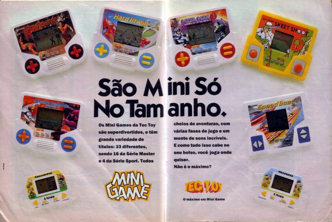 Série Master: os minigames que marcaram época