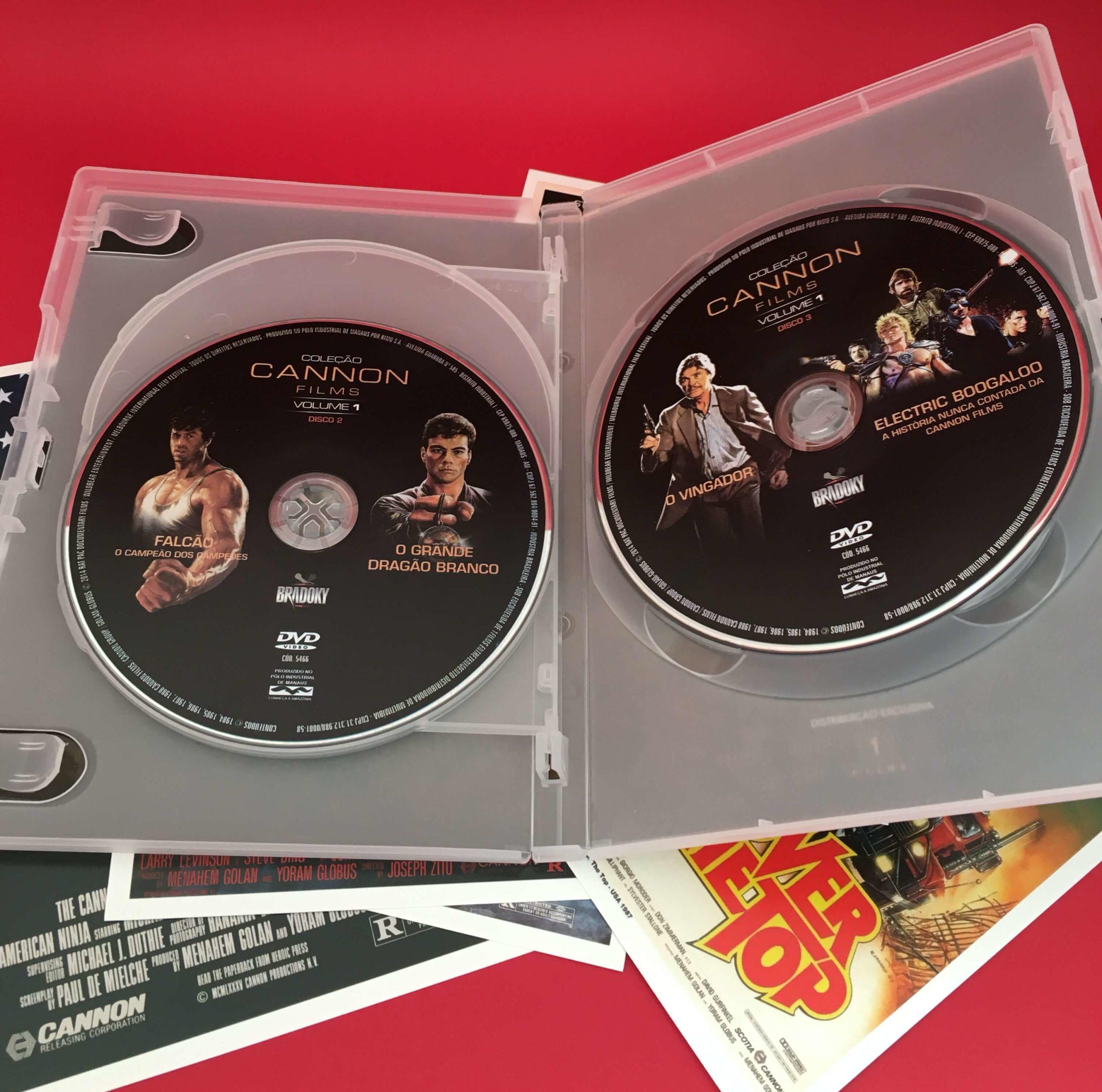 Conheça o primeiro volume da coleção 'Cannon Films'