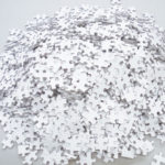 O quebra-cabeça branco de 2.000 peças que vai te tirar do tédio