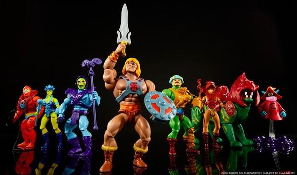He-Man   Mattel relança linha icônica de bonecos dos anos 80