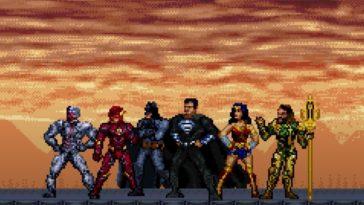 Liga da Justiça| Assista ao trailer do Snyder Cut em 16 bits