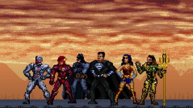 Liga da Justiça  Assista ao trailer do Snyder Cut em 16 bits