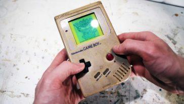 Nintendo | Restaurando um Gameboy dos anos 90