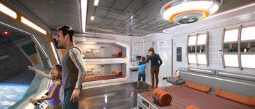 Star Wars   Veja como serão as cabines do hotel temático em Orlando