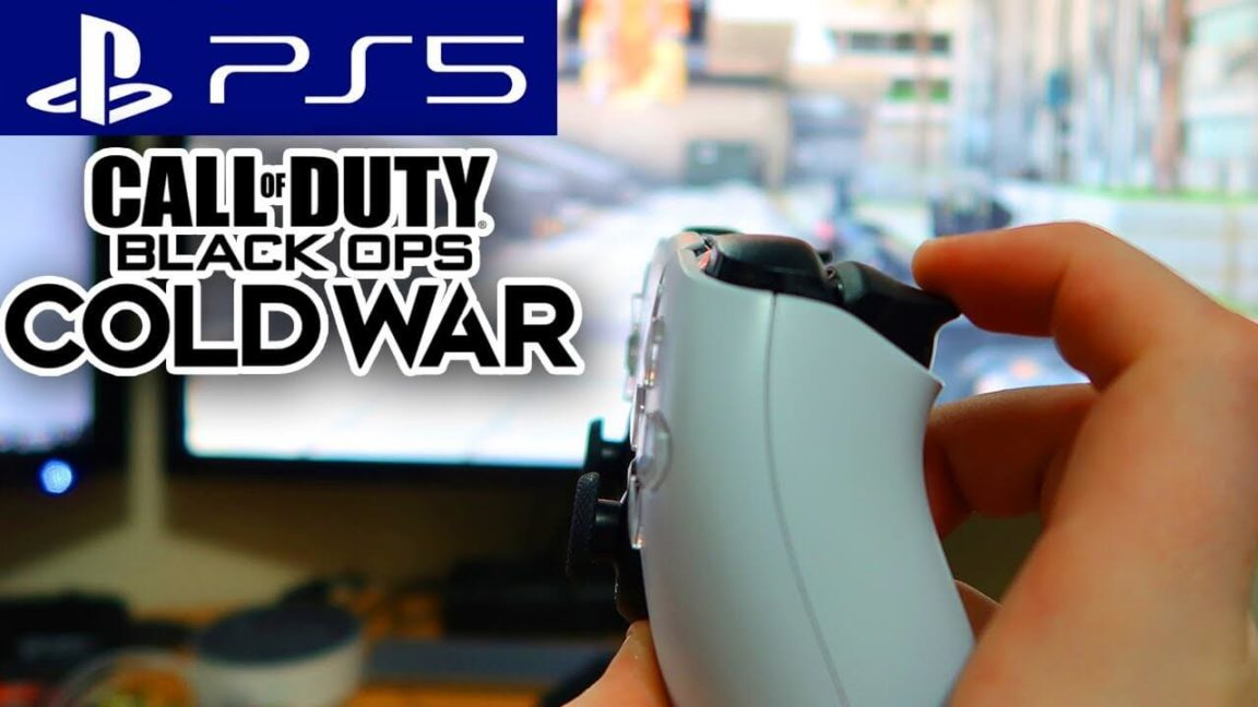 Call of Duty Black Ops: Cold War | Controle do PS5 reage diferente a cada arma
