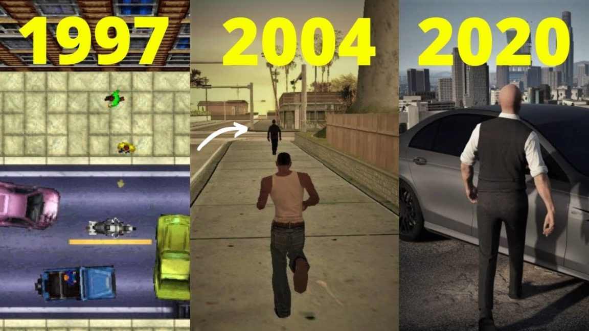 Grand Theft Auto | A evolução do GTA entre 1997 e 2020