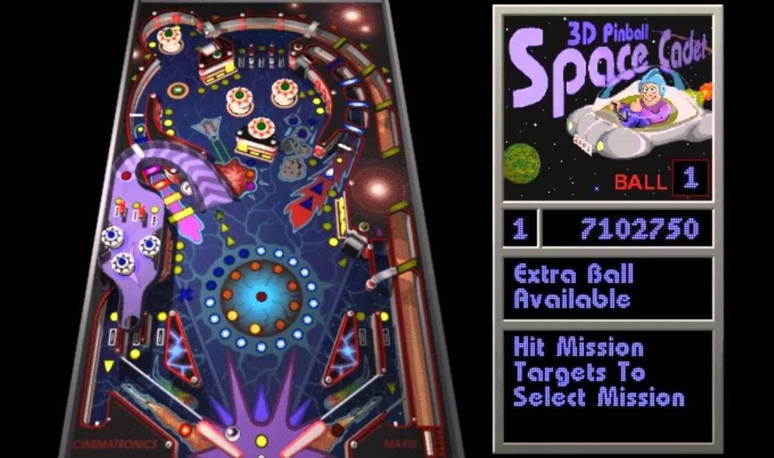 3D Pinball Space Cadet | Jogue online o melhor game de pinball pra PC
