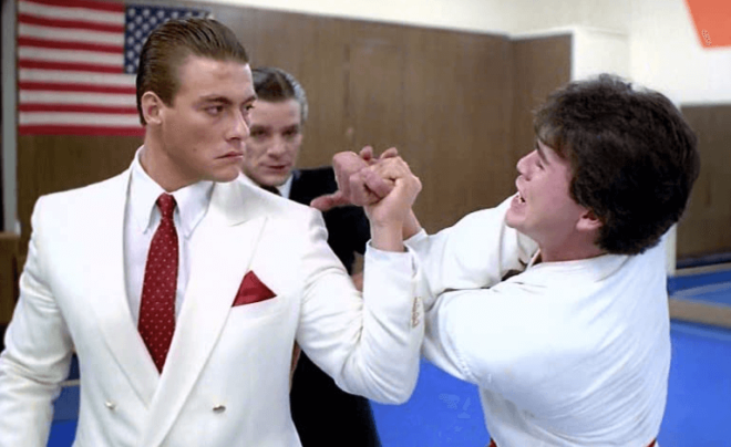 Retroceder Nunca, Render-se Jamais (1986) | Van Damme de vilão e Bruce Lee no coração