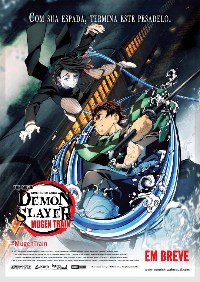 Demon Slayer: Mugen Train | Sucesso de bilheteria no Japão vai ser exibido no Brasil