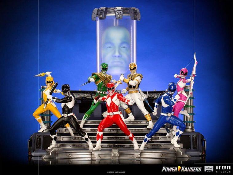 Power Rangers   Você vai se apaixonar por estas figuras de 'Mighty Morphin'