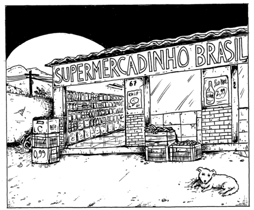 HQ do Dia   Supermercadinho Brasil - Lobo Ramirez